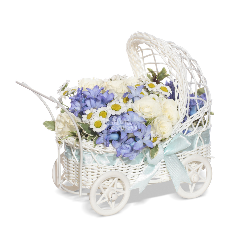 Букет «Flora Express», С рождением сына!