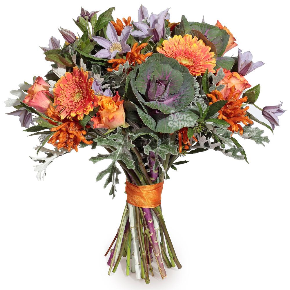 Букет «Flora Express», Поцелуй осени