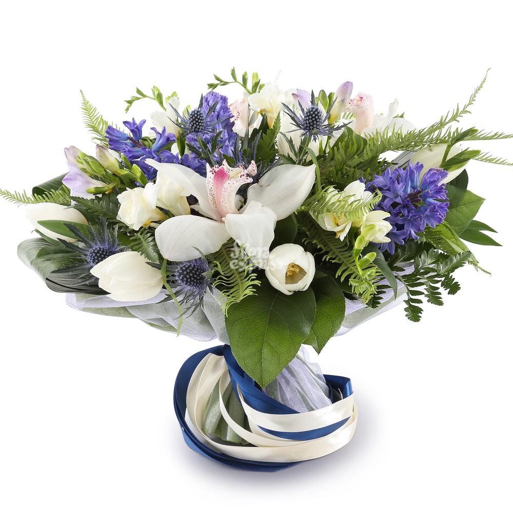 Букет «Flora Express» Орхидеи и гиацинты фото