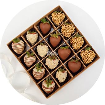 Букет Клубника в шоколаде 2
