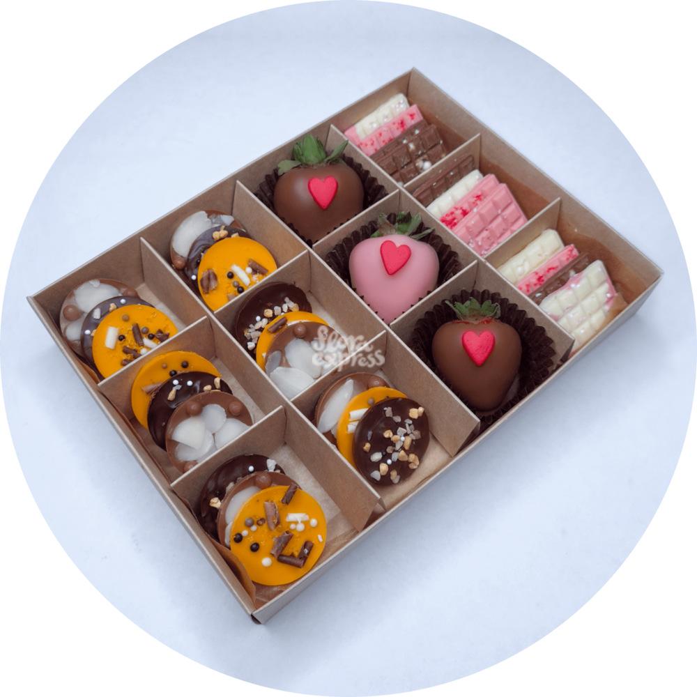 Букет «Flora Express» Шоколадные вкусняшки 5 фото